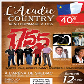 Acadie Country Pays Tribute to 1755